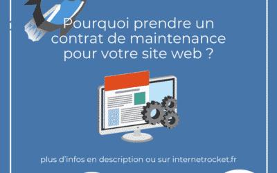 Contrat de maintenance pour site web