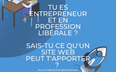 Tu es entrepreneur et en profession libérale ?